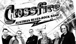 Crossfire – The Austrian Blues Rock Band am Hauptplatz